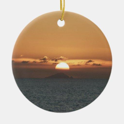 Sunset in Antigua Ornament