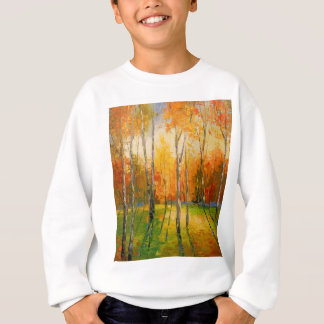 Sunset in autumn forest sweatshirt