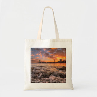 Sunset In Barcelona Tote Bag