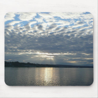 Sunset in British Columbia I Canadian Seascape Mouse Pad