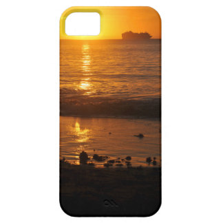 Sunset in Copacabana, Brazil iPhone 5 Cases