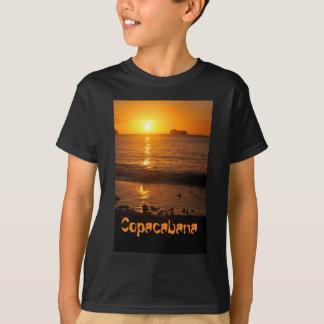 Sunset in Copacabana, Brazil T-Shirt