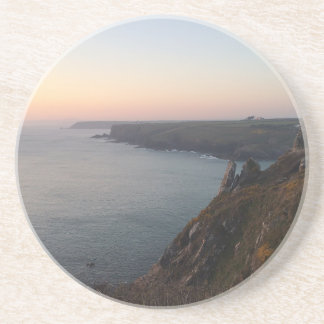 Sunset in Cornwall Coaster