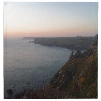 Sunset in Cornwall Napkin