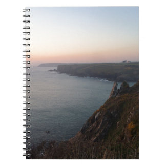 Sunset in Cornwall Notebooks