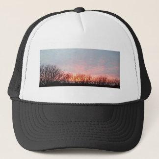 sunset in cornwall trucker hat