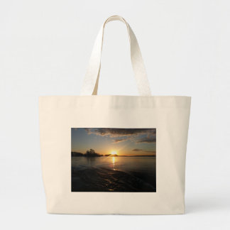 Sunset in Heaven Canvas Bags