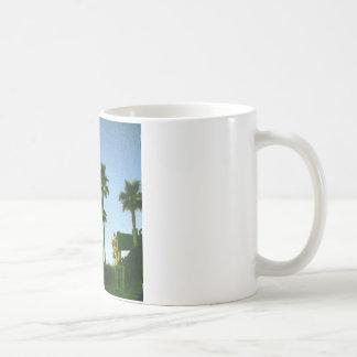 sunset in hollywood coffee mug