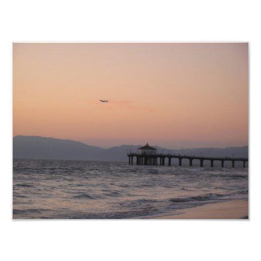 Sunset in LA Photo Art