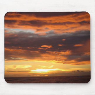 Sunset in Lahaina in Maui Hawaii Mouse Mat