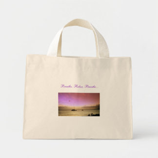 Sunset in Maui Bag Pink & Gold