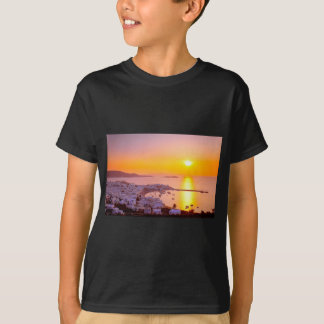 Sunset in Mykonos, Greece T-Shirt