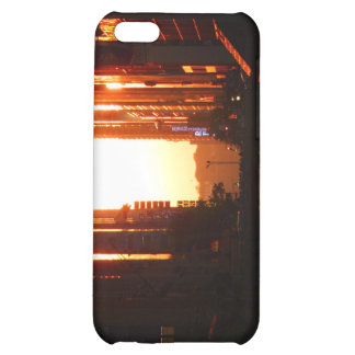 Sunset in New York City iPhone 5C Cases