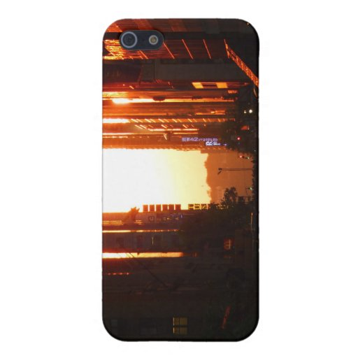 Sunset in New York City iPhone 5 Case