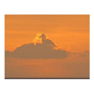Sunset in Rincon, PR Postcard