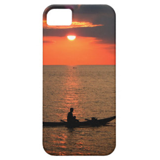 Sunset in Sausapor town Case For The iPhone 5