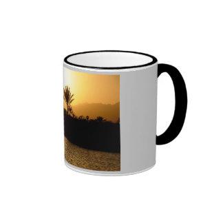 Sunset in Sharm el Sheikh, Egypt Ringer Mug