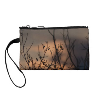Sunset in the Background Coin Wallet