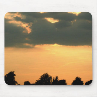 Sunset In The Bush Mouse Pad