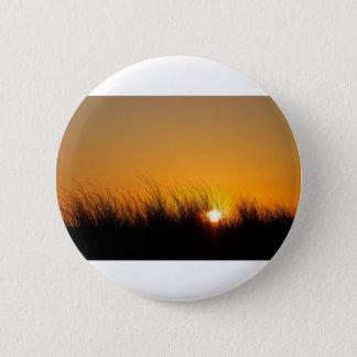 Sunset in the dunes 6 cm round badge