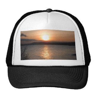 Sunset in Torquay, Devon Trucker Hats