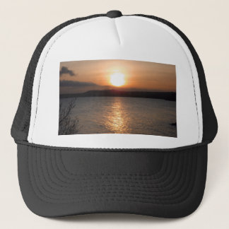 Sunset in Torquay, Devon Trucker Hat
