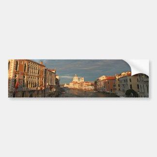Sunset in Venice Italy Bumper Stickers