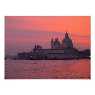 Sunset in Venice Photo Print