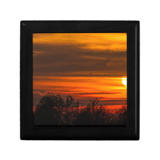 sunset in winter gift box