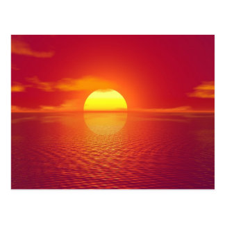 Sunset India Postcard