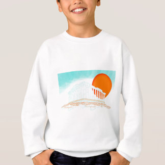 sunset inside Parthenon Sweatshirt