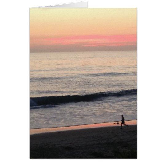 Sunset Inspirational Card