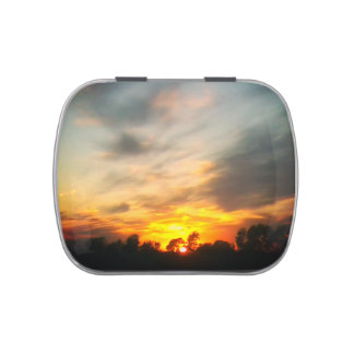 Sunset Jelly Belly Tin