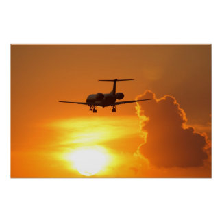 Sunset Jet Print
