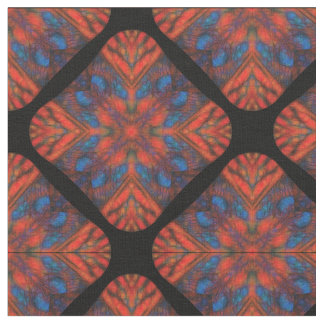 Sunset Kaleidoscope Fabric