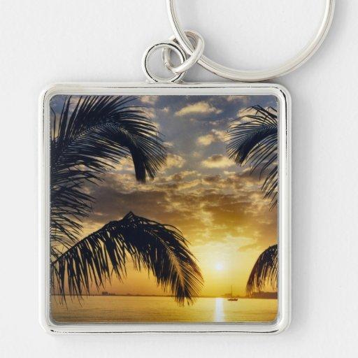 Sunset Key Chains