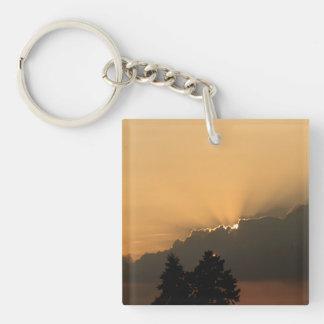 Sunset Acrylic Keychain