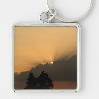 Sunset Key Chain