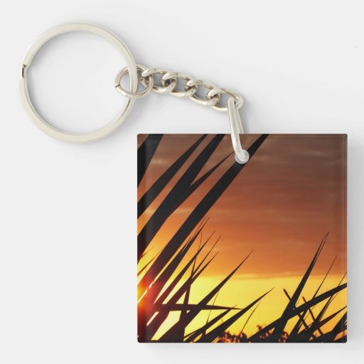 Sunset Acrylic Key Chain