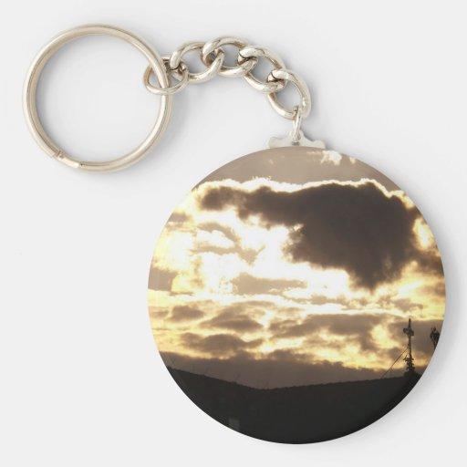 Sunset Keychain