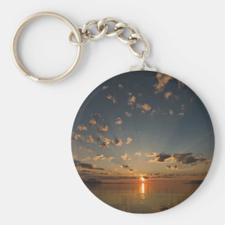sunset key ring