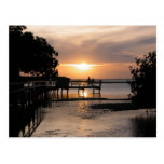 Sunset Key West Florida Postcard