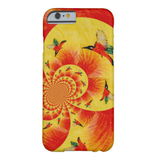 Sunset Kingfisher Birds Barely There iPhone 6 Case