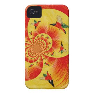 Sunset Kingfisher Birds iPhone 4 Case