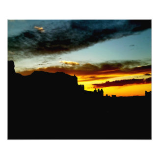 Sunset La Sal Mountains Viewpoint Arches National Art Photo