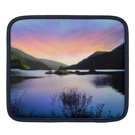 Sunset Lake iPad Sleeve