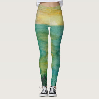 Sunset Landscape Leggings