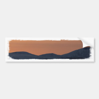 Sunset Layers Bumper Sticker