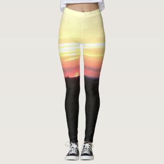 sunset leggings