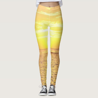 Sunset Leggings, Ocean View Leggings